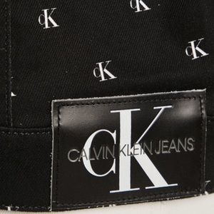 Calvin Klein Jackets & Coats - NWT Calvin Klein All Over Logo Trucker Jacket